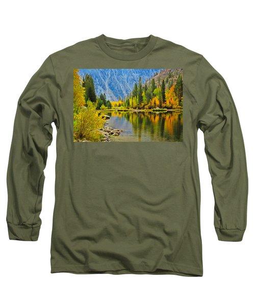 Fall At North Lake Long Sleeve T-Shirt