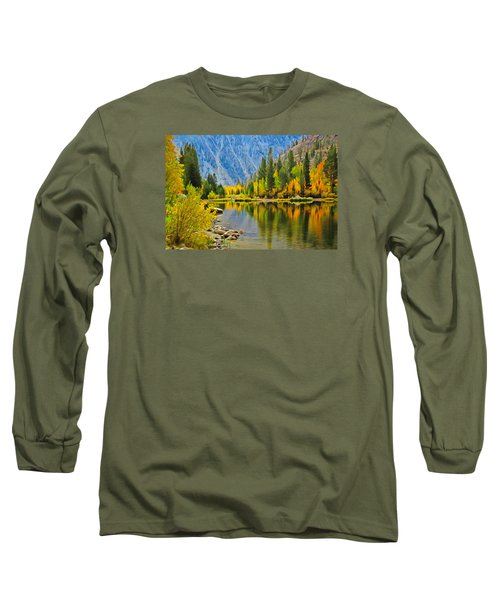 Fall At North Lake Long Sleeve T-Shirt