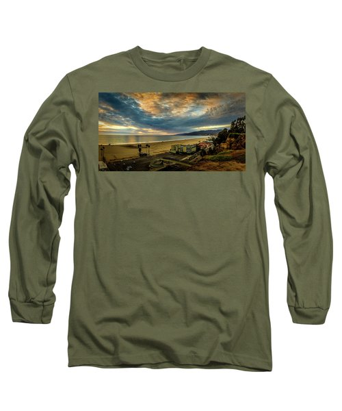 Fall Clouds Over The Bay Long Sleeve T-Shirt