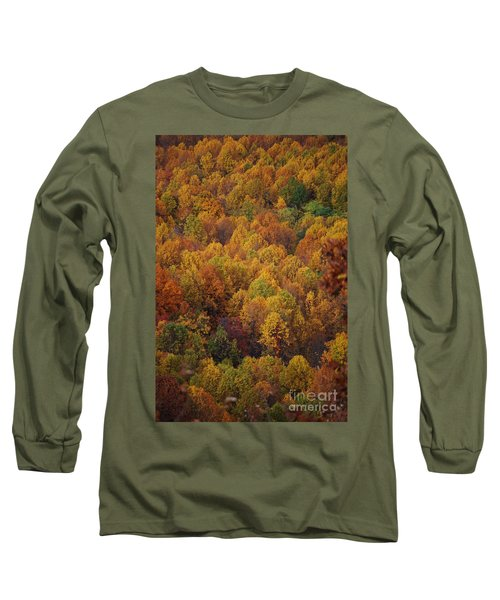Fall Cluster Long Sleeve T-Shirt by Eric Liller