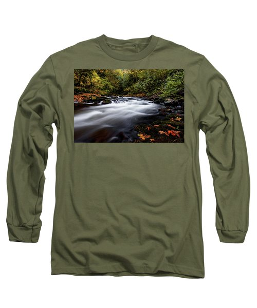 Fall Color At Cedar Creek Long Sleeve T-Shirt