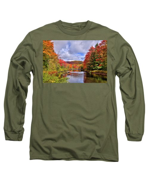 Fall Color On The River Long Sleeve T-Shirt