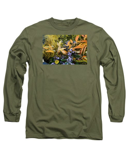 Long Sleeve T-Shirt featuring the photograph Fall Color Soup by Deborah  Crew-Johnson
