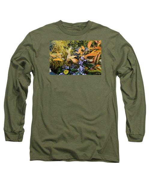 Fall Color Soup Long Sleeve T-Shirt by Deborah  Crew-Johnson
