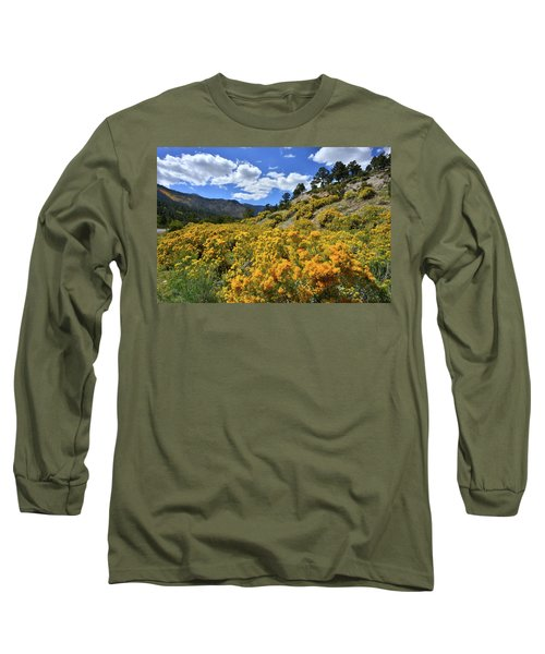 Fall Colors Come To Mt. Charleston Long Sleeve T-Shirt