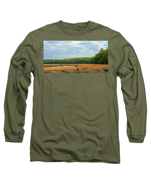 Fall Colors In Edgecomb Long Sleeve T-Shirt