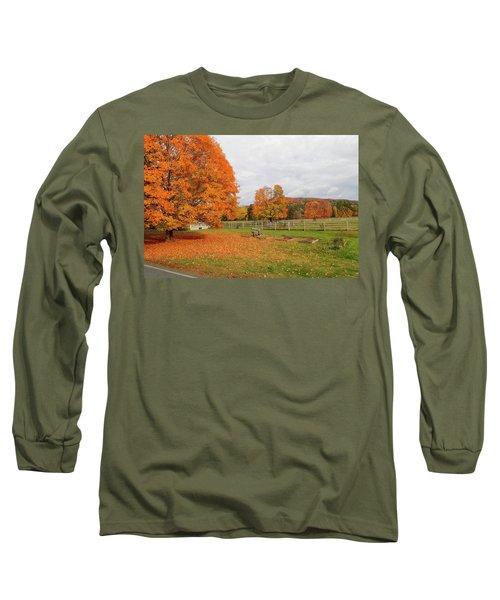 Fall Colors Long Sleeve T-Shirt
