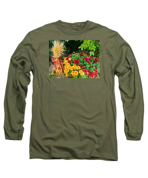 Long Sleeve T-Shirt featuring the photograph Fall Fantasy by Randy Rosenberger
