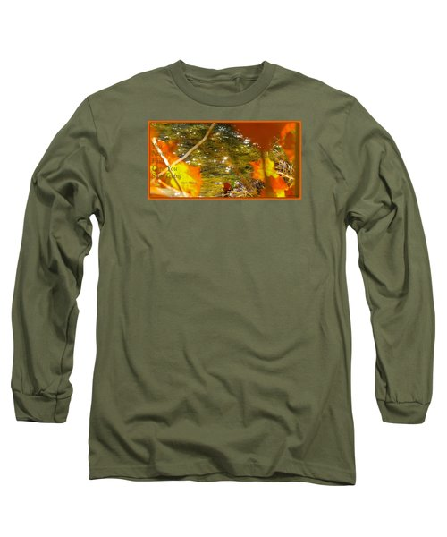 Fall Flyer Long Sleeve T-Shirt by David Norman