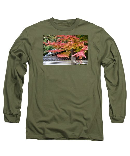 Long Sleeve T-Shirt featuring the photograph Fall In Japan by Tad Kanazaki