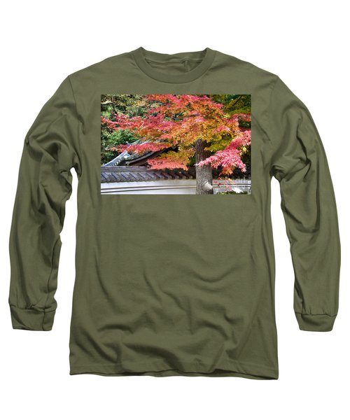 Fall In Japan Long Sleeve T-Shirt