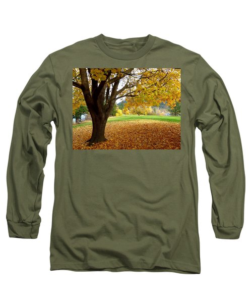 Fall In Kaloya Park 8 Long Sleeve T-Shirt