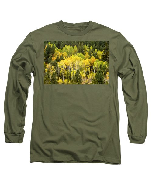 Fall In The Sierras Long Sleeve T-Shirt