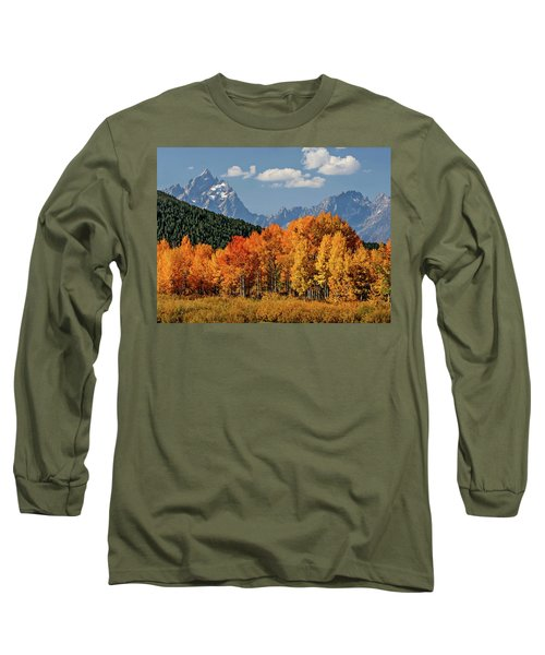 Fall In The Tetons Long Sleeve T-Shirt