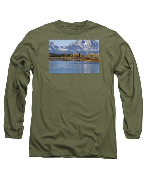 Fall Inteton -3 Long Sleeve T-Shirt by Shirley Mitchell