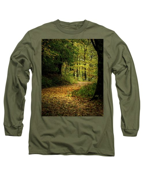 Fall Is Just Around The Corner Long Sleeve T-Shirt