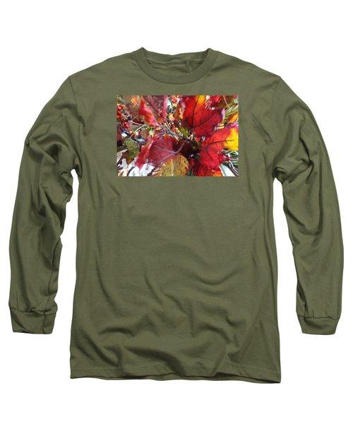 Fall Leaves Design 1 Long Sleeve T-Shirt