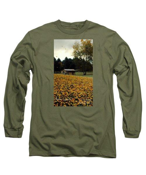 Fall Leaves - No. 2015 Long Sleeve T-Shirt