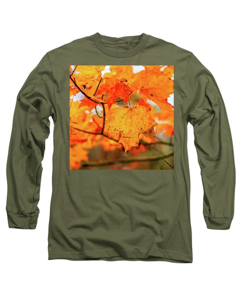 Fall Maple Leaf Long Sleeve T-Shirt