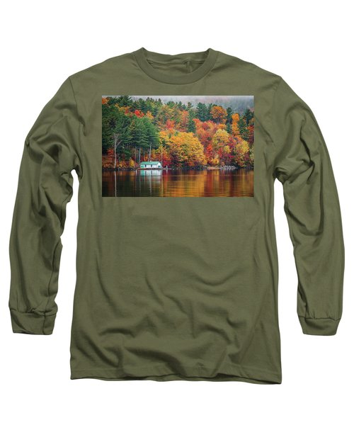 Fall On Lake Winnipesaukee Long Sleeve T-Shirt