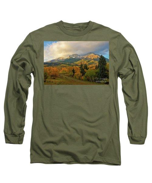 Fall On Mt Sopris  Long Sleeve T-Shirt