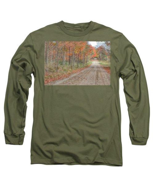 9018 - Fall On Murphy Lake Iv Long Sleeve T-Shirt