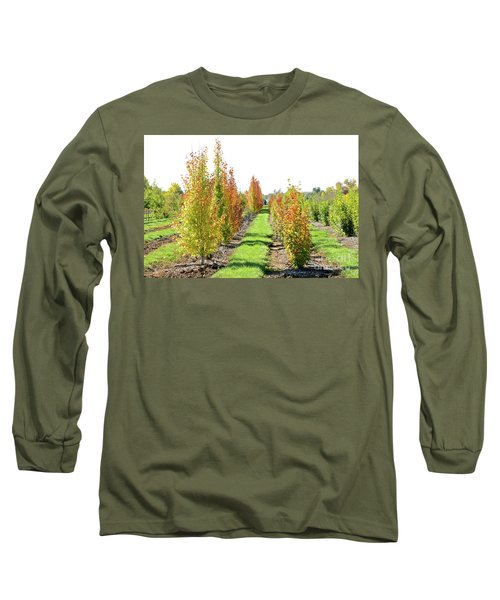 Fall On The Tree Farm Long Sleeve T-Shirt
