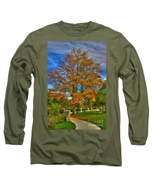 Fall On The Walk Long Sleeve T-Shirt