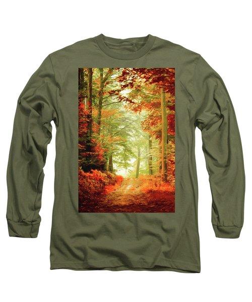 Fall Painting Long Sleeve T-Shirt