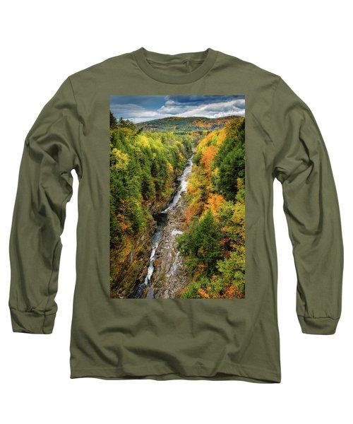 Fall Quechee Gorge, Vt Long Sleeve T-Shirt