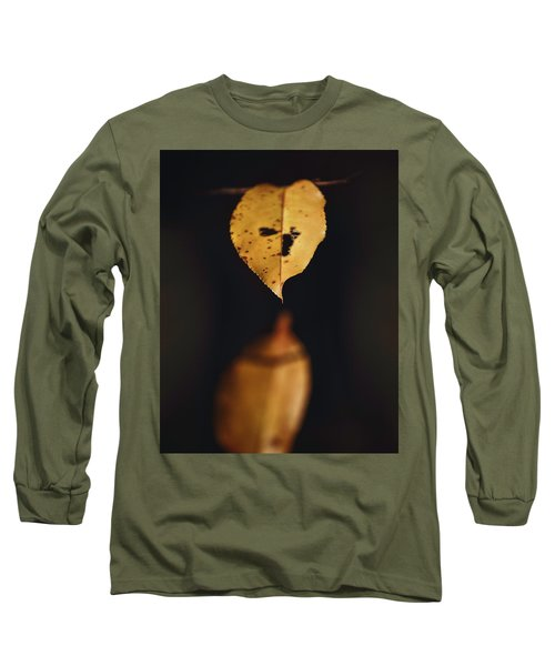 Fall Reflections Long Sleeve T-Shirt by Eduard Moldoveanu