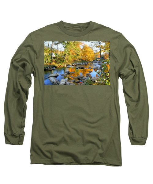 Fall Reflections In Jackson Long Sleeve T-Shirt