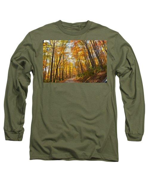 Fall Road Long Sleeve T-Shirt