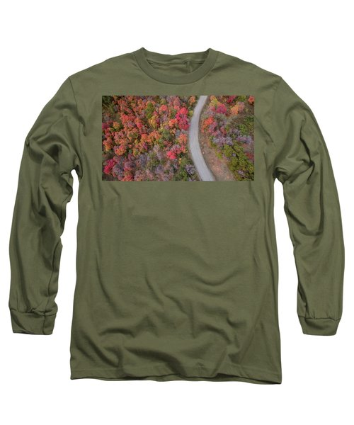 Fall Road Long Sleeve T-Shirt