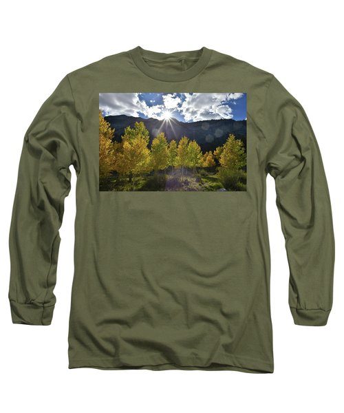 Fall Sun Setting Over Mt. Charleston Long Sleeve T-Shirt