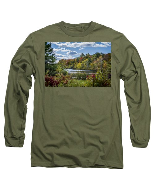 Fall Time On The Lake Long Sleeve T-Shirt