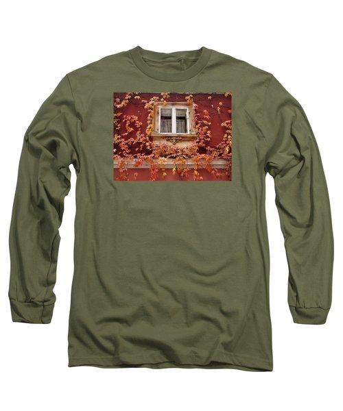 Fall Window,prague Long Sleeve T-Shirt