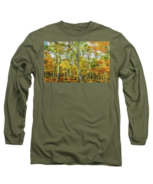 Fall Yellow Long Sleeve T-Shirt