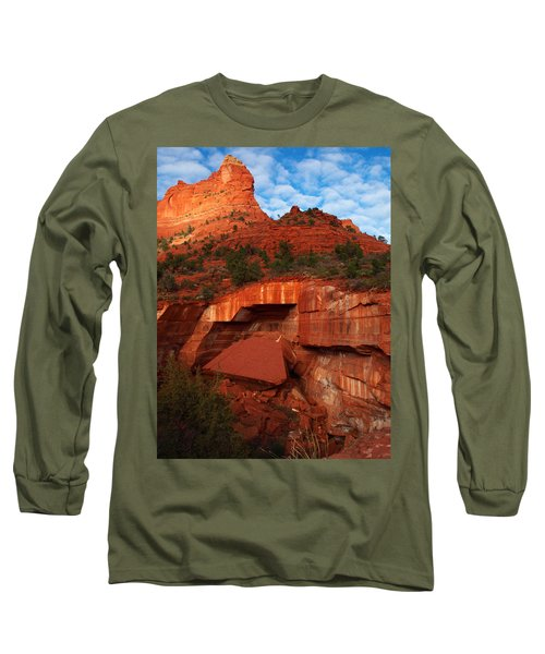 Long Sleeve T-Shirt featuring the photograph Fallen by James Peterson