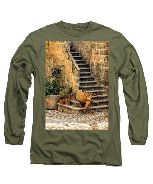 Fallen Chair Long Sleeve T-Shirt