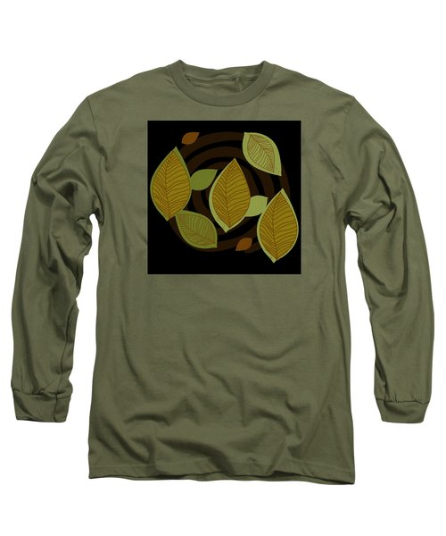 Falling Into Color Long Sleeve T-Shirt