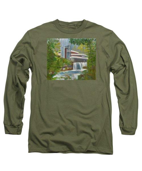 Falling Water Long Sleeve T-Shirt