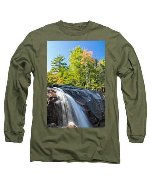 Falls Diana's Baths Nh Long Sleeve T-Shirt