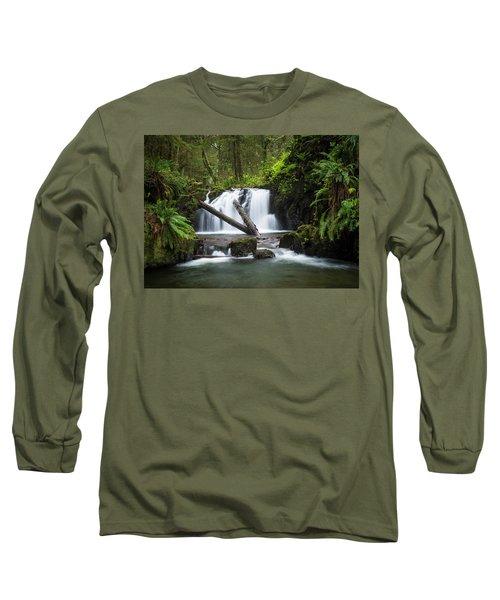 Falls On Canyon Creek Long Sleeve T-Shirt