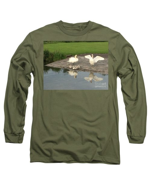 Family Outing Long Sleeve T-Shirt by David Grant