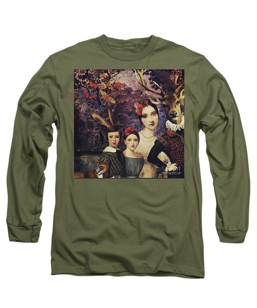 Family Portrait Long Sleeve T-Shirt by Alexis Rotella