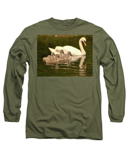Family Swan  Long Sleeve T-Shirt