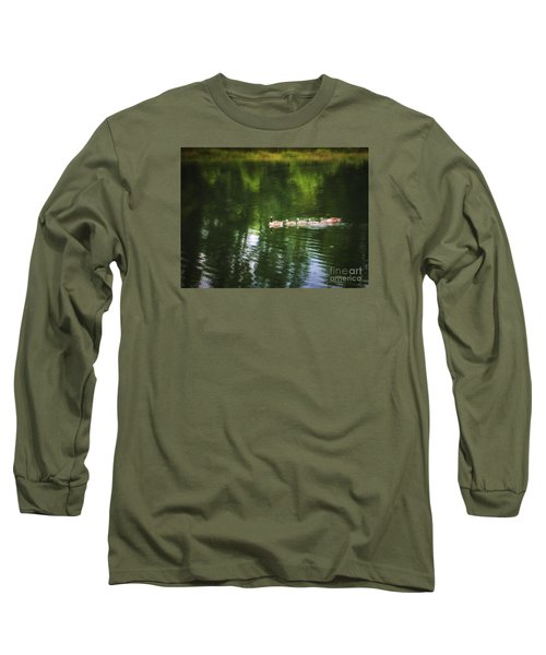 Long Sleeve T-Shirt featuring the photograph Family Values  ... by Chuck Caramella