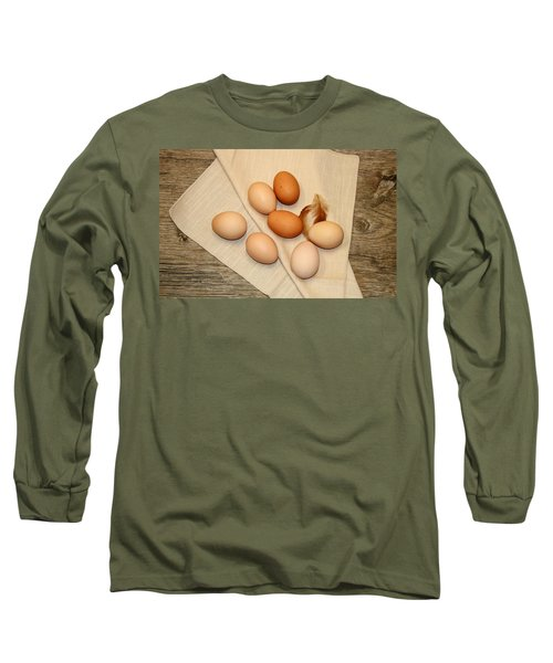 Farm Fresh Eggs Long Sleeve T-Shirt