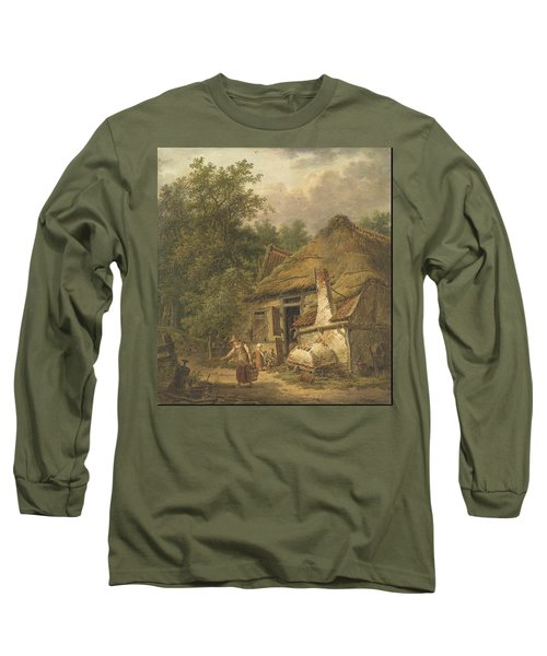 Farmhouse Near Helvoirt   Long Sleeve T-Shirt
